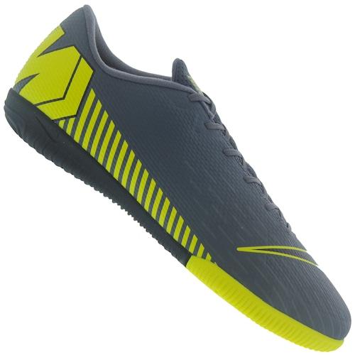 fbb0700f1b Chuteira Futsal Nike Mercurial Vapor X 12 Academy IC - Adulto - Amarelo  Fluor
