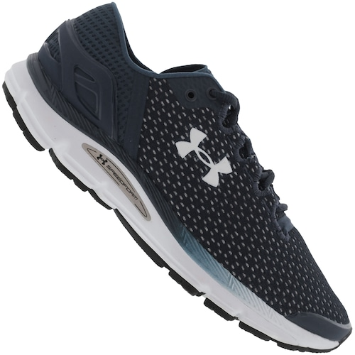 49501454f92 Tênis Under Armour Charged Intake 2 - Masculino - AZUL ESCURO ...
