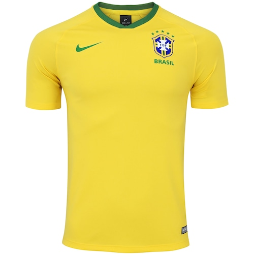 47e37cd197 Camisa da Seleção Brasileira 2018 Nike - Torcedor