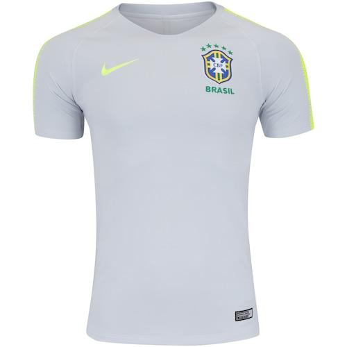 ec1a0a66a202d Camisa de Treino Breathe da Seleção Brasileira 2018 Nike - Masculina
