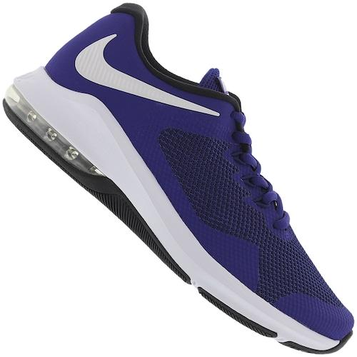 online retailer 056ae c0f9d Tênis Nike Air Max Alpha Trainer - Masculino - AZUL/BRANCO | Menor ...