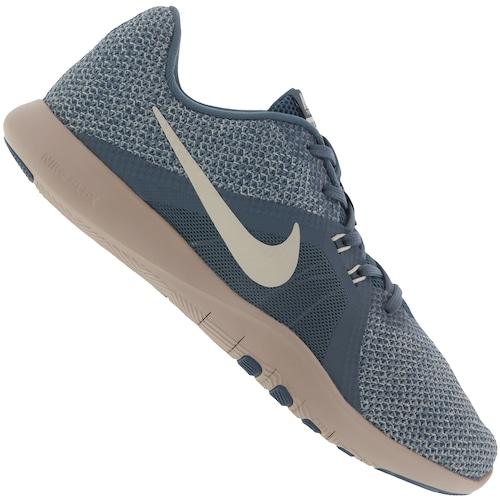 Menor Preco Em Tenis Nike Flex Trainer 8 Feminino Azul