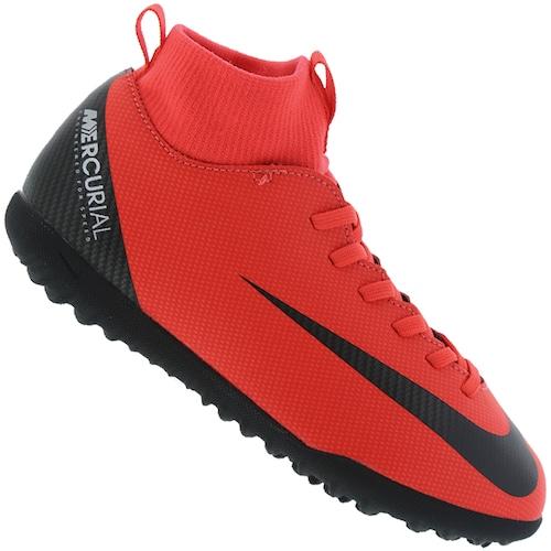 4c6a8280ea Chuteira Society Nike Mercurial Superfly 6 Club CR7 TF - Infantil