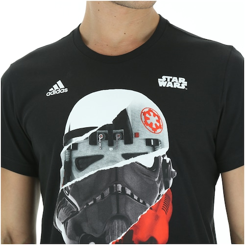 itálico segmento físicamente  Camiseta adidas Star Wars Stormtrooper - Masculina - Centauro