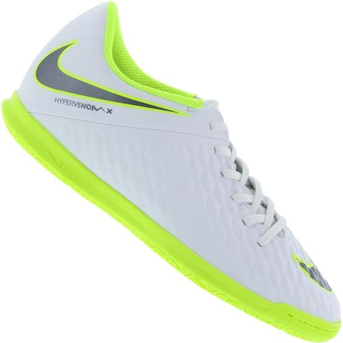 87a4cc14308f9 Chuteira Futsal Nike Hypervenom Phantom X 3 Club IC - Adulto