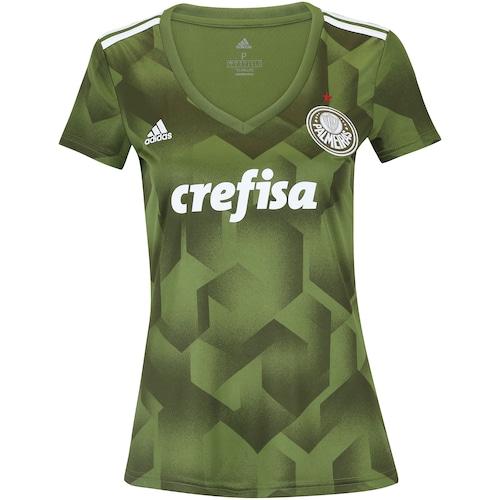Camisa do Palmeiras III 2018 adidas - Feminina