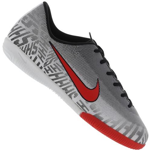 8078828ed Menor preço em Chuteira Futsal Nike Mercurial Vapor X 12 Academy Neymar Jr.  IC - Infantil - BRANCO PRETO