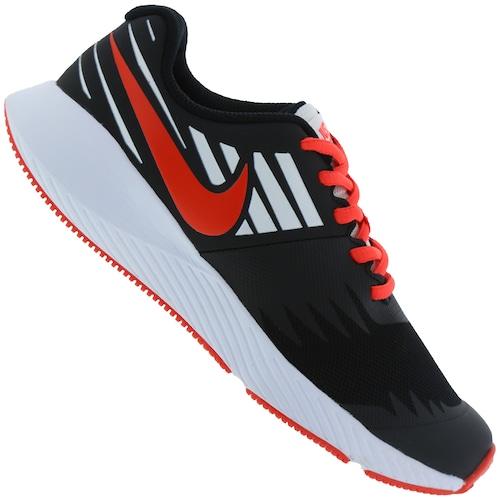 c8b3c4c93d473 Tênis Nike Star Runner JDI GS - Infantil - PRETO/BRANCO   Menor ...