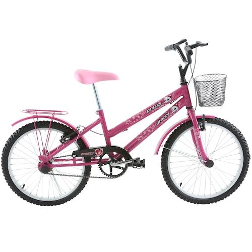 Bicicleta Oxer Cissa Aro 20 Rígida 1 Marcha - Rosa