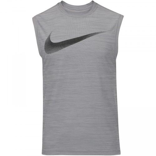457704888f Camiseta Regata Nike Breathe Tank Muscle - Masculina - CINZA CINZA ...