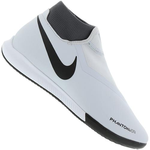 8188b33d1f Chuteira Futsal Nike Phantom VIVSN Academy DF IC - Adulto - PRETO AZUL