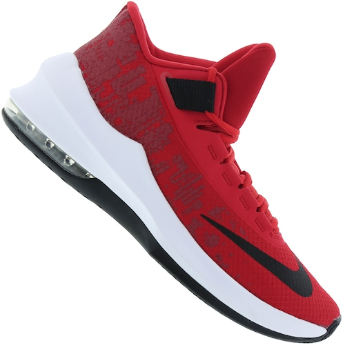 3e9f0cfc7c Menor preço em Tênis Nike Air Max Infuriate 2 Mid - Masculino - Vermelho  Preto