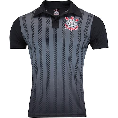 e26a10eeec Camisa Polo do Corinthians 2019 Nike - Masculina - PRETO