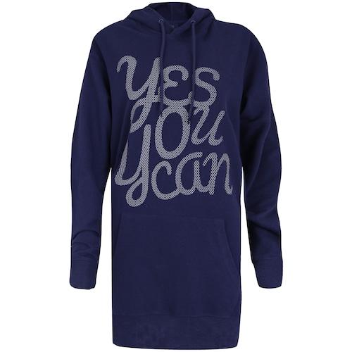 Menor preço em Blusão de Moletom com Capuz Oxer Duo Color Chill - Feminino