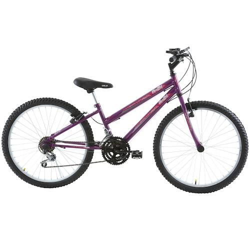 Menor preço em Bicicleta Oxer Lover Girl - Aro 24 - Freio V-Brake - 18 Marchas - Feminina - Infantil