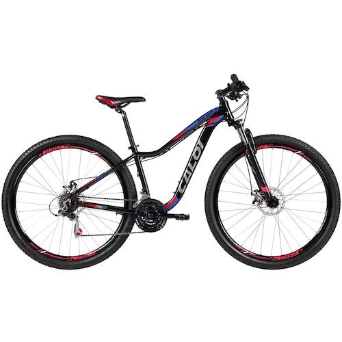 Menor preço em Mountain Bike Caloi Évora - Aro 29 - Freio a Disco Mecânico - Câmbio Shimano - 21 Marchas - Feminina