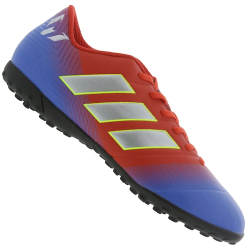 8242a5d001e Chuteira Society adidas Nemeziz Messi 18.4 TF - Adulto - VERMELHO ...