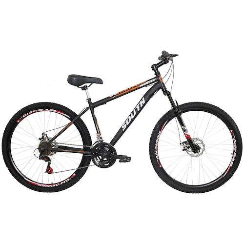 Menor preço em Mountain Bike South Bike Hunter GT - Aro 29 - Freio a Disco Mecânico - 21 Marchas