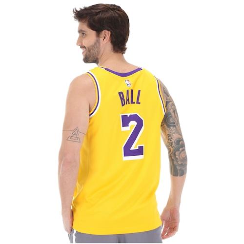 5480841de4803 Camisa Regata Nike NBA Los Angeles Lakers Icon Edition Swingman - Masculina