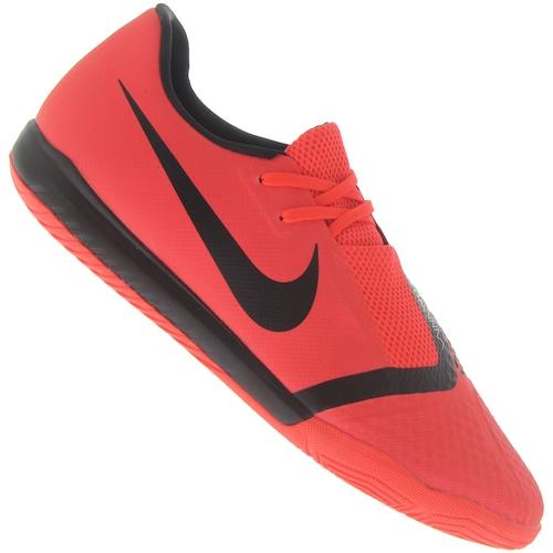 a7eb926eb8 Chuteira Futsal Nike Phantom Venom Academy IC - Adulto - Vermelho ...
