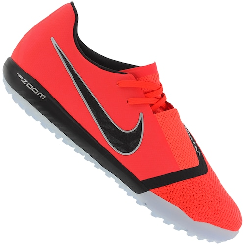 25df8eae3c8cc Chuteira Society Nike Zoom Phantom Venom Pro TF - Adulto - BRANCO/PRETO | Menor  preço com cupom