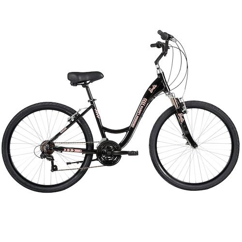 Menor preço em Bicicleta Caloi Barbie - Aro 26 - Freio V-Brake - Câmbio Shimano - 21 Marchas - Feminina