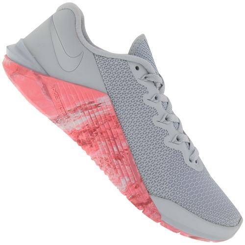 Menor Preço Em Tênis Nike Metcon 5 Feminino Cinza Clarosa Cla