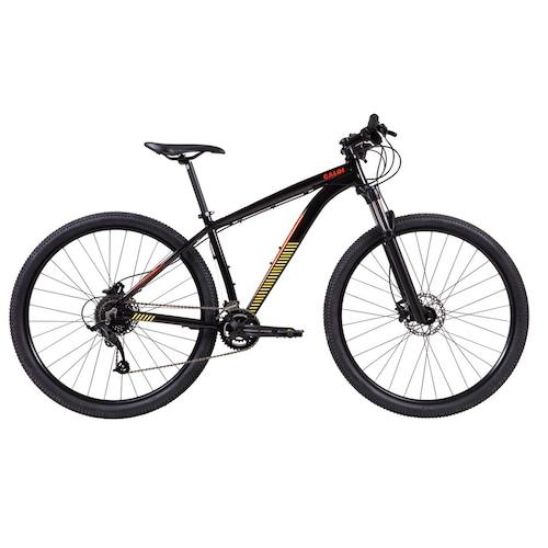 Bicicleta Caloi Moab T21 Aro 29 Susp. Dianteira 27 Marchas - Laranja/preto