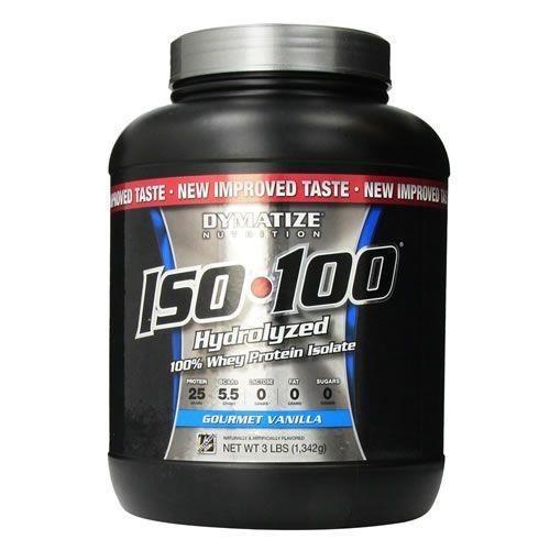 52807d9d1 Whey Protein Isolado Dymatize Nutrition Iso 100 - Baunilha - 1342g