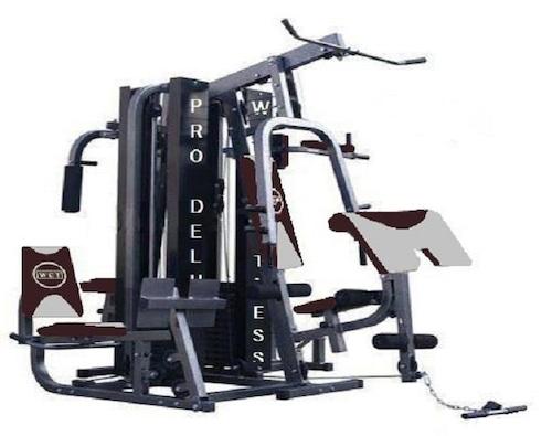 Aparelho de Musculação WCT Fitness Ginástica Academia Pro Deluxe - 022 e9a2c9b01f