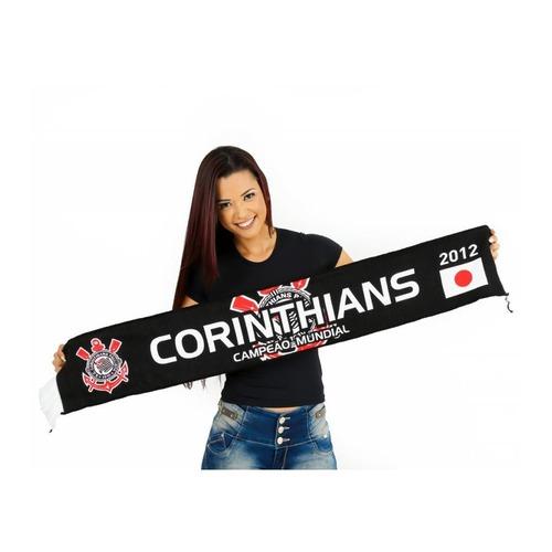 Cachecol do Corinthians Cachecol Mania Alta Definição - Campeão Mundial 811b08a7ffd4c