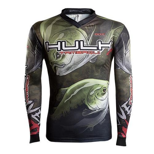 Camisa de Pesca BRK River Monster Tambaqui Hulk com Proteção UV 50+ 9f3d13529f606