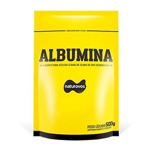 Albumina Naturovos Refil - Chocolate - 500g - 5 Pacotes d5260d67ee332