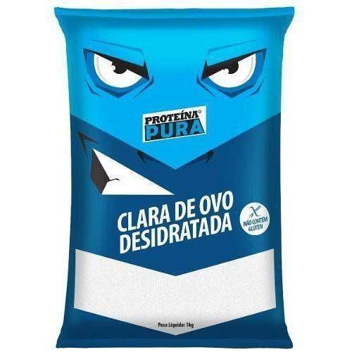 Albumina Netto Alimentos Proteína Pura Clara de Ovo Desidratada - 1Kg - 5  Pacotes 8421c9264b7d3