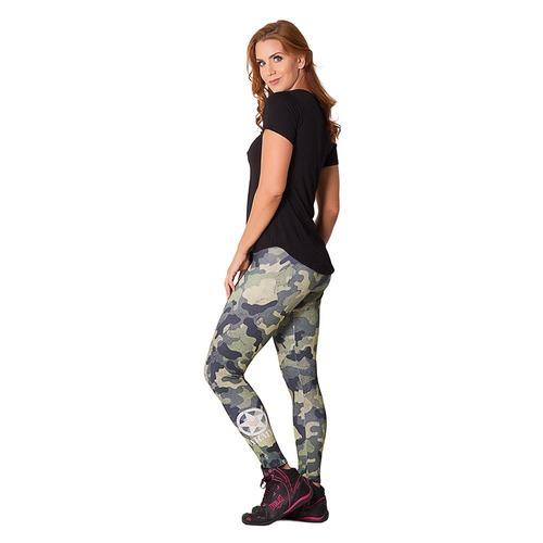 1ed1d52bd Calça Legging Go Fit Rio Camuflada - Feminina