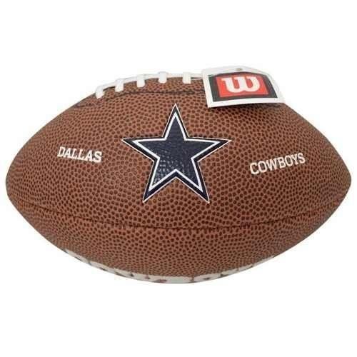 Bola de Futebol Americano Wilson NFL Dallas Cowboys 45ed7b7fc5a