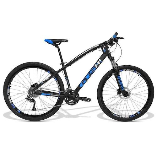 Bicicleta Gts M1 I-vtec T20 Aro 29 Susp. Dianteira 27 Marchas - Preto/verde