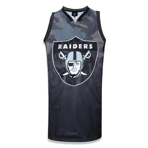 Camiseta Regata New Era NFL Oakland Raiders Camuflada 39641 - Masculina 9e8dfb2d431ab