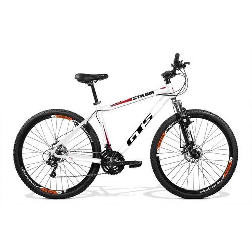 Bicicleta Gts M1 Stilom 2.0 Disc T21 Aro 29 Susp. Dianteira 24 Marchas - Preto