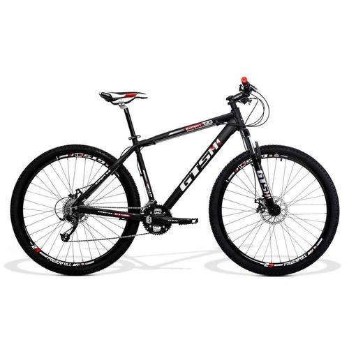 Bicicleta Gts M1 Expert 2.0 T15 Aro 29 Susp. Dianteira 27 Marchas - Preto