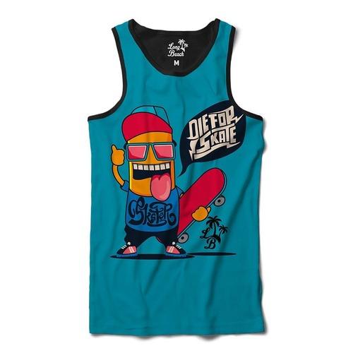 Camiseta Regata Long Beach Die for Skate - Masculina 29a4a6aac43