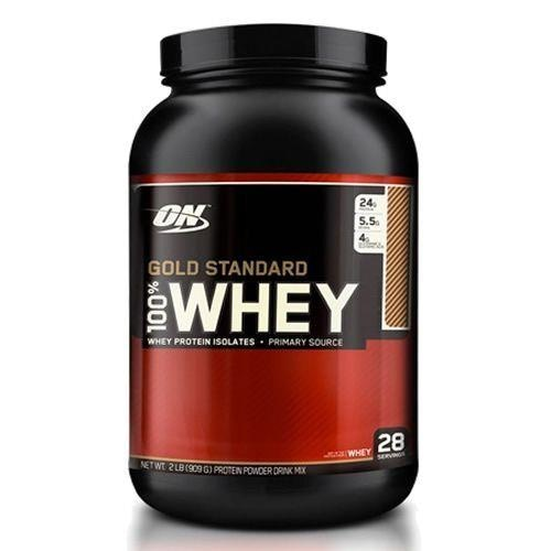 ddc03559f Whey Protein 100% Gold Standard Optimum Nutrition - Chocolate Coconut - 909g