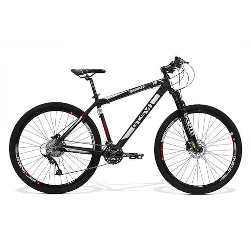 Bicicleta Gts M1 Advanced New T15 Aro 29 Susp. Dianteira 30 Marchas - Preto