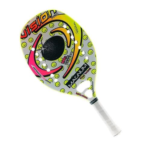 093954a20 Raquete de Beach Tennis Vision Magnum New - 50