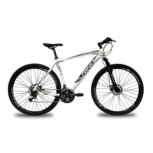 Bicicleta Rino Everest T21 Aro 29 Susp. Dianteira 21 Marchas - Verde
