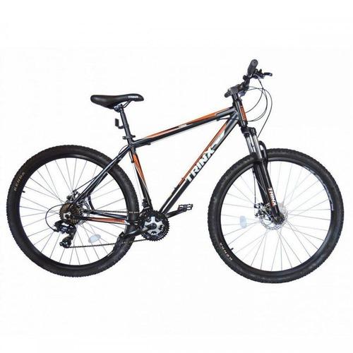 Bicicleta Trinx Sti 2.0 Aro 29 Susp. Dianteira 24 Marchas - Laranja/prata