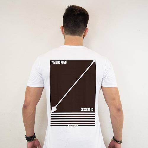 0fa4fa5f16549 Camiseta Zé Carretilha - Cor - Timão - Fé Alvinegra - Masculino