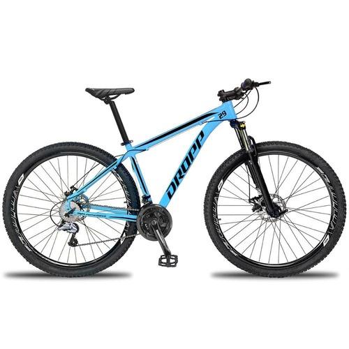 Bicicleta Dropp Aluminum 2020 Disc H T17 Aro 29 Susp. Dianteira 27 Marchas - Branco/vermelho