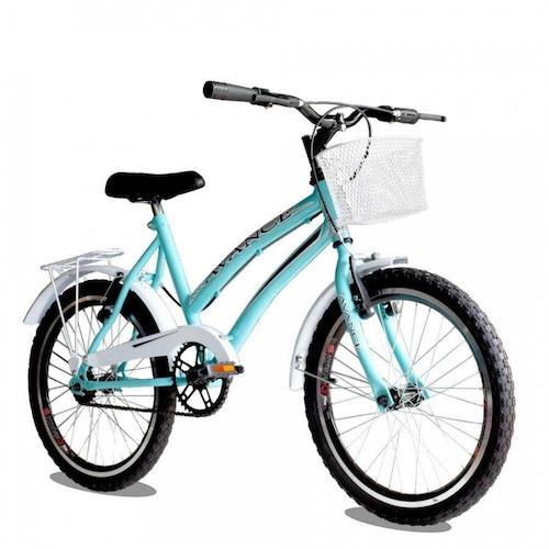 Bicicleta Avance Bike Ceci Aro 20 Rígida 1 Marcha - Azul