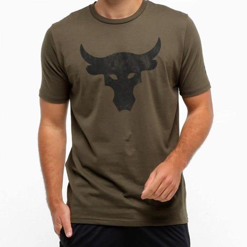 orificio de soplado rociar Centímetro  Camiseta Under Armour Project Rock Bull - Masculina - Centauro